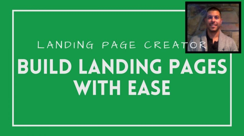 Landing Page Creator   Build Landing Pages With EASE
