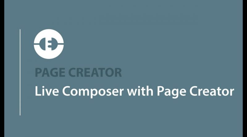 Live Composer with Page Creator | Adobe Muse and WordPress | MusexPress CMS