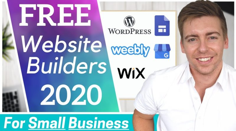 TOP 5 FREE Website Builders for Small Business [2020]