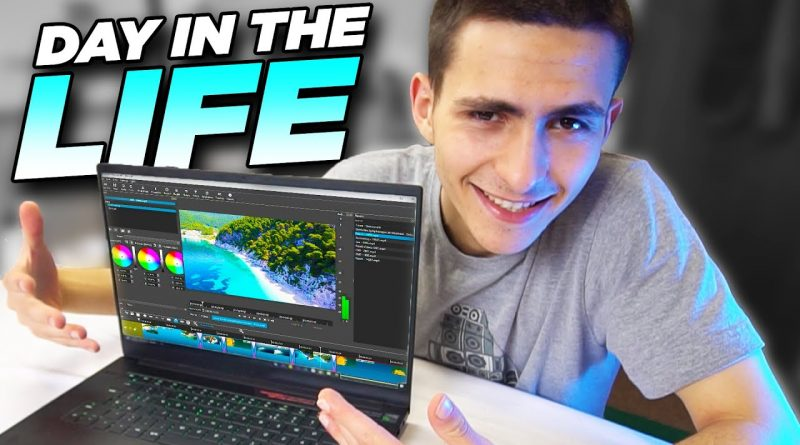 Day in the Life of a FULL TIME Video Creator