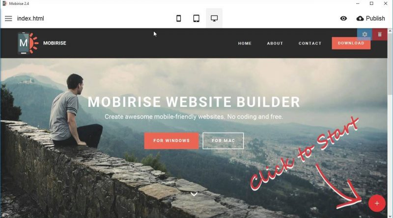 Extensions support - Mobirise Landing Page Creator v2.4