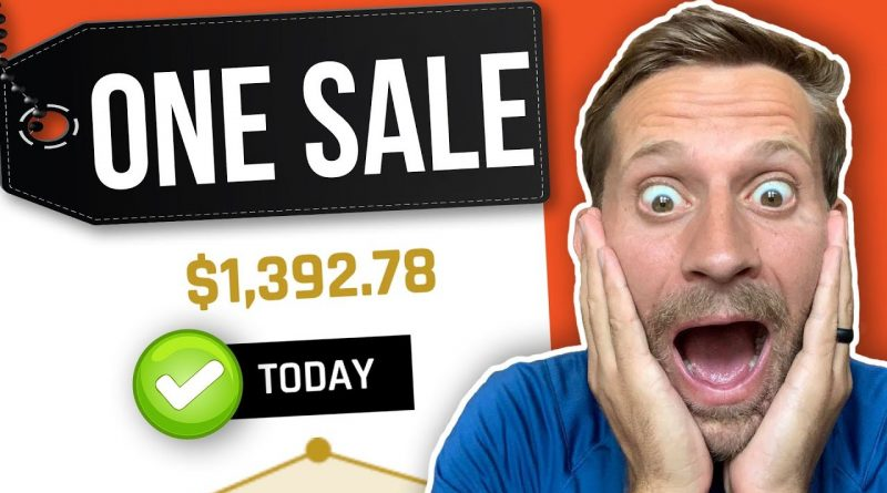 Make $1,000 In ONE Sale With Affiliate Marketing [Beginner Friendly Method]