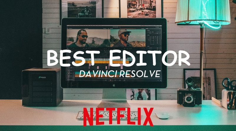 BEST VIDEO EDITING SOFTWARE REVIEW Edit a film in DAVINCI RESOLVE Learn how to